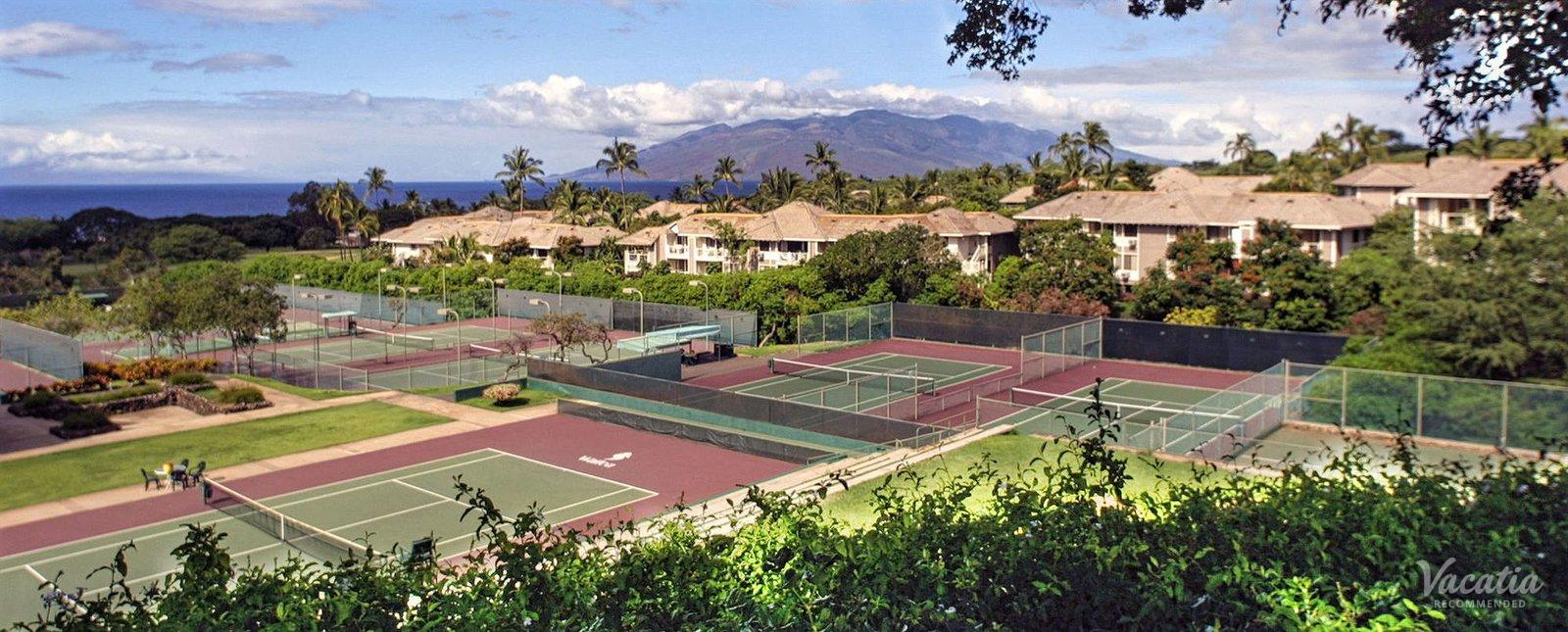 Wailea Grand Champions Villas wailea tennis club
