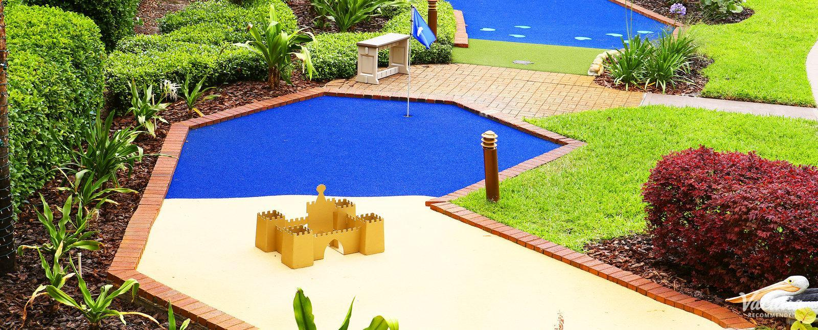Westgate Blue Tree minigolf for families