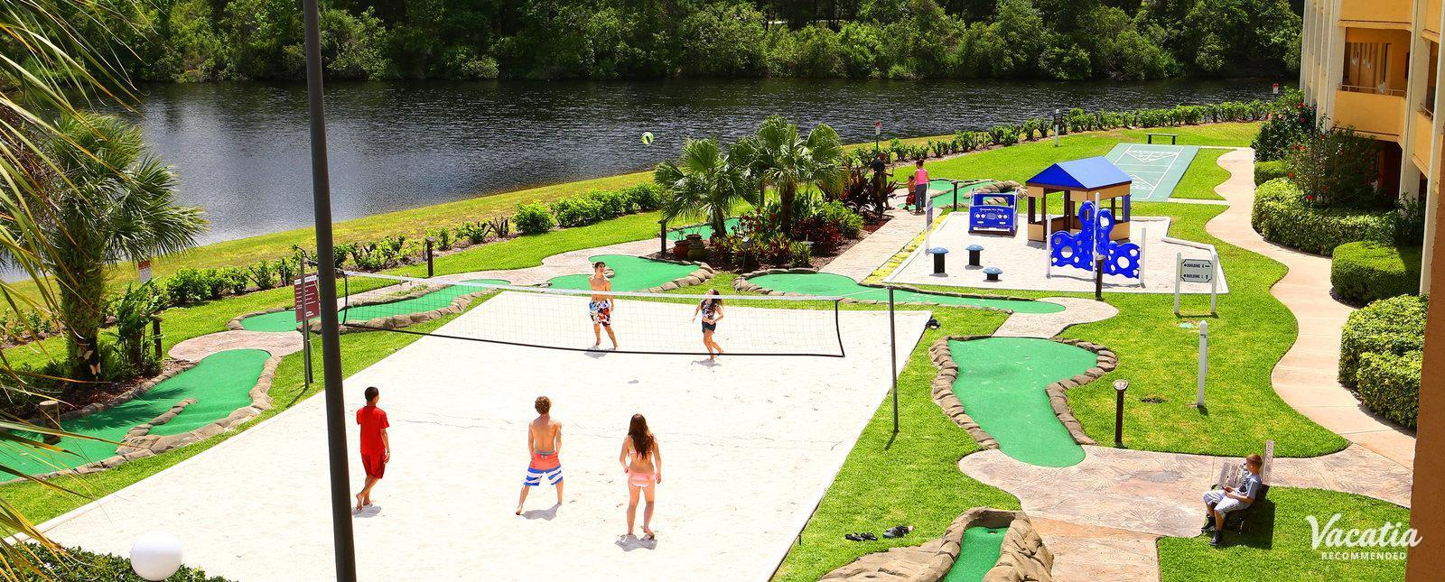Westgate Leisure Resort  Beach Volleyball & Mini Golf