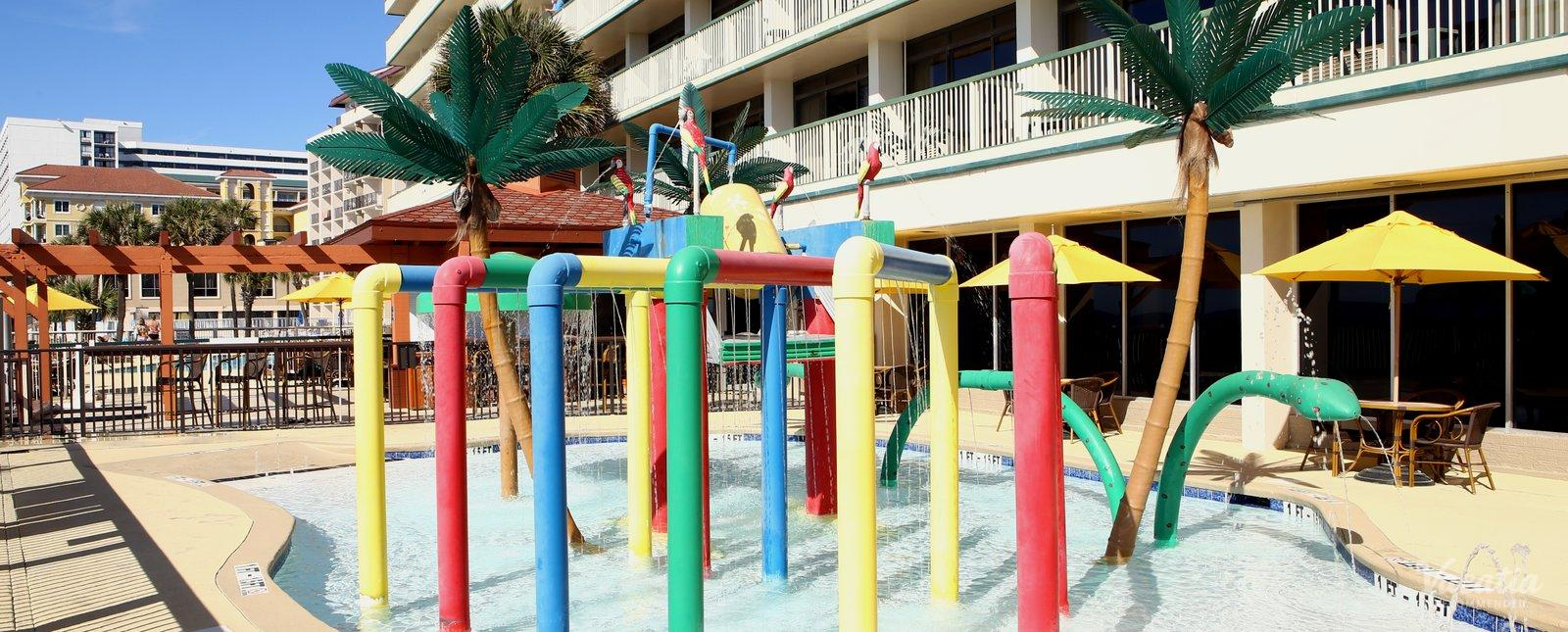 Westgate Myrtle Beach Oceanfront Resort water playground for kids