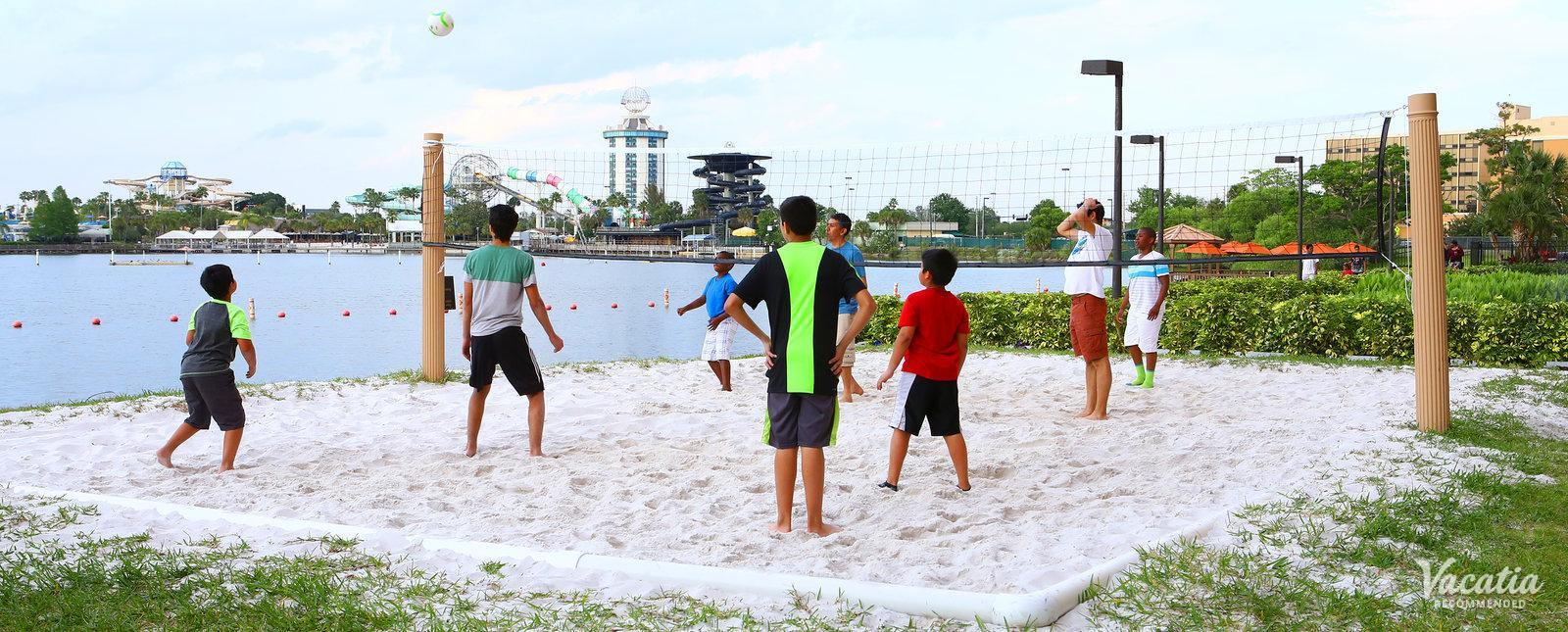 Westgate Palace Resort Beach Volleyball Court