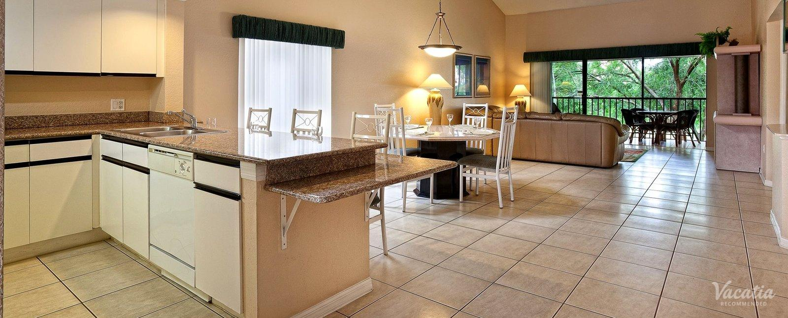 Westgate Vacation Villas Orlando Condo Rentals Full Kitchen