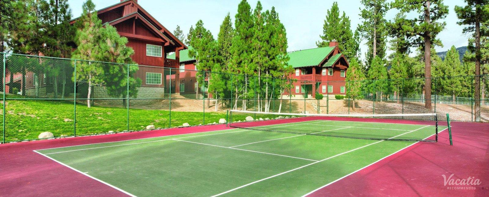 WorldMark Big Bear Resort Tennis Courts