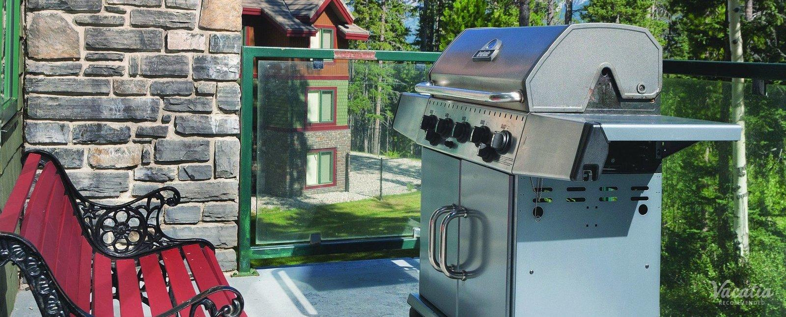 WorldMark Canmore-Banff Resort Grills