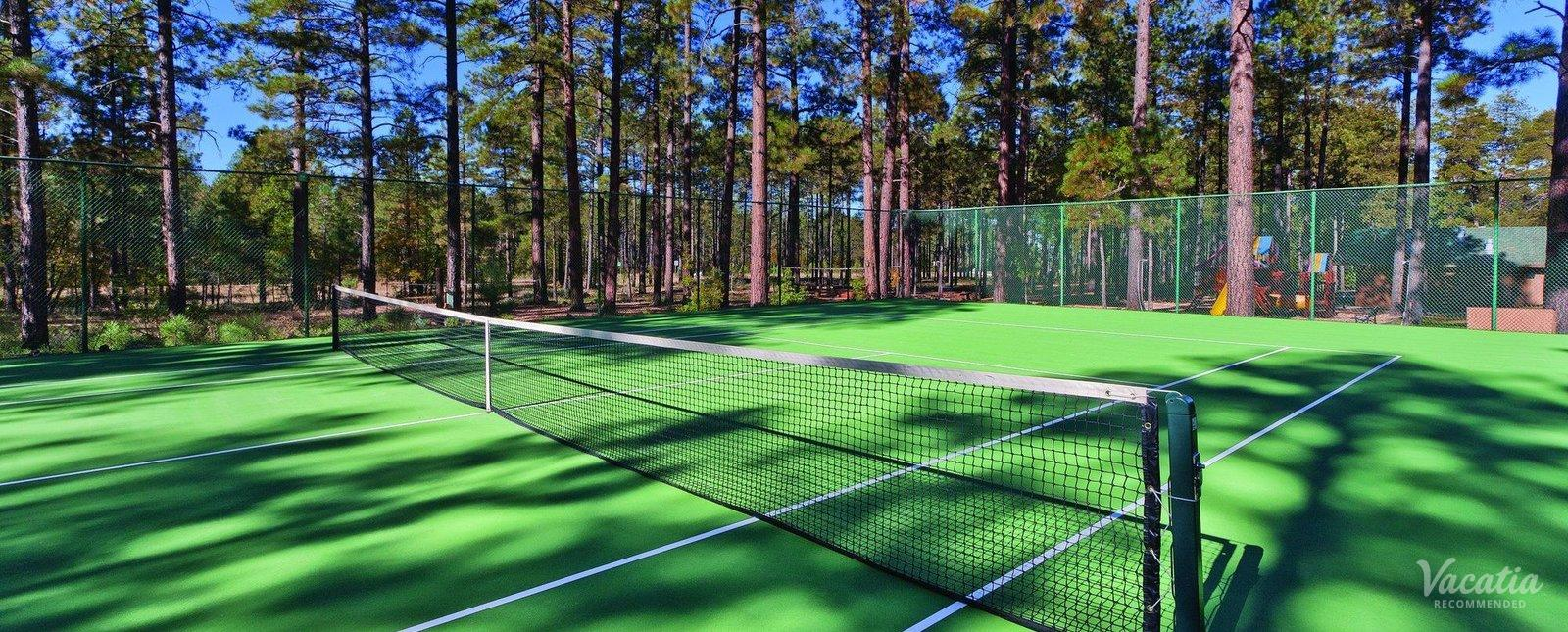 WorldMark Pinetop Arizona Tennis Court