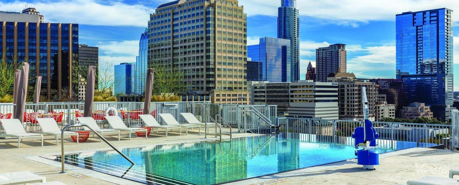 Wyndham Austin Resort Rooftop Pool