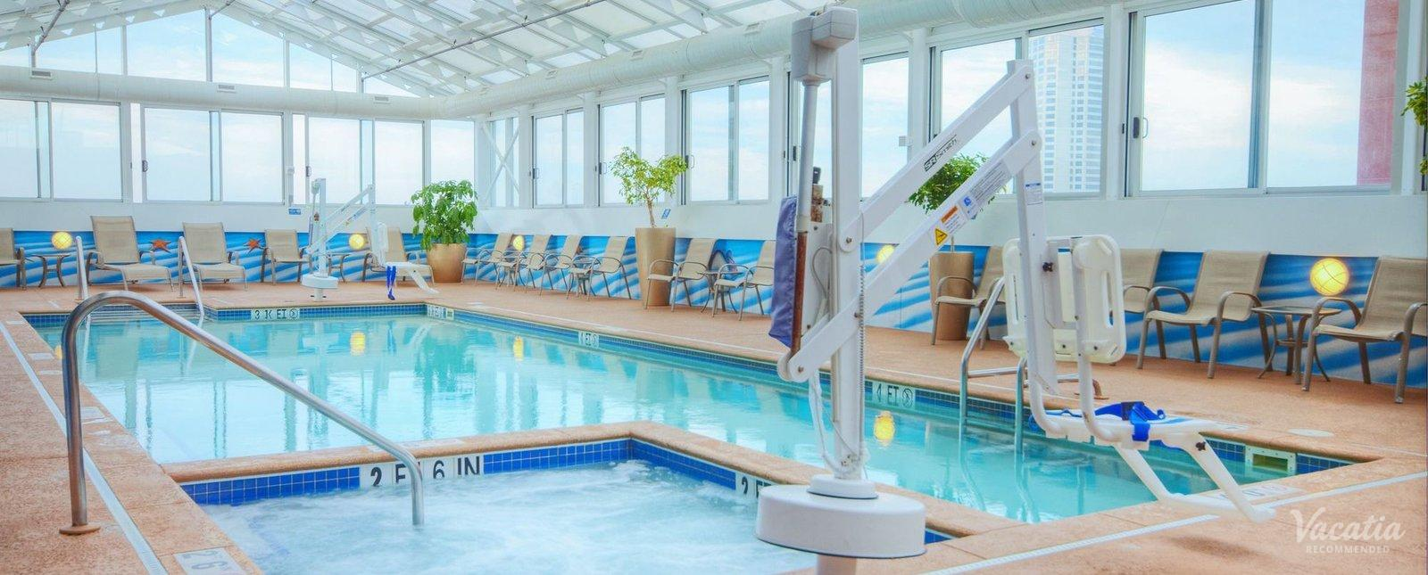 Wyndham Skyline Tower Indoor Pool