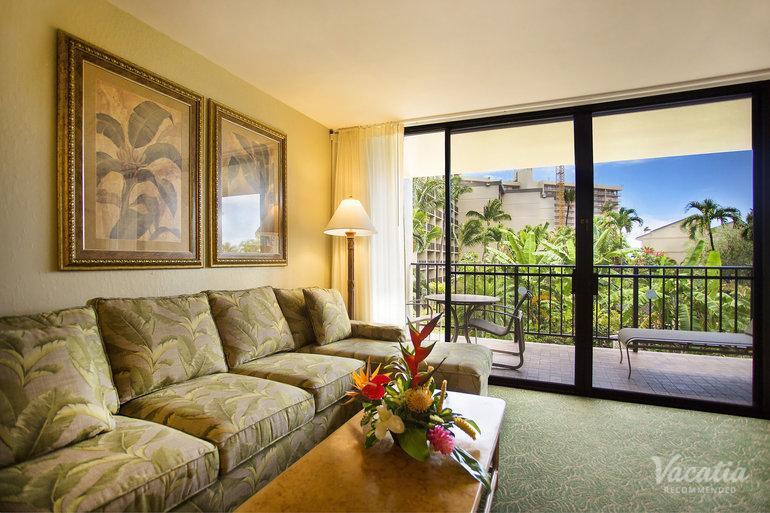 Two Bedroom Two Bath Garden View Aston Kaanapali Shores Maui Condo Rentals