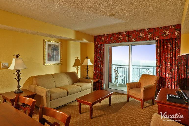 Two Bedroom Two Bath Oceanfront Grand Atlantic Ocean Resort Myrtle Beach Condo Rentals