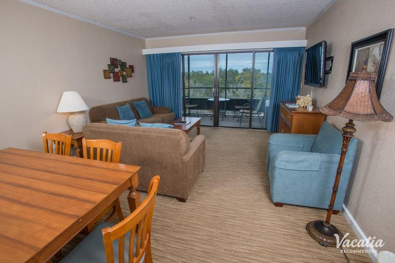 Two Bedroom Two Bath Ocean Creek Resort Myrtle Beach Condo Rentals