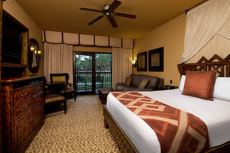 Disney Animal Kingdom Villas Inside Hotel Room