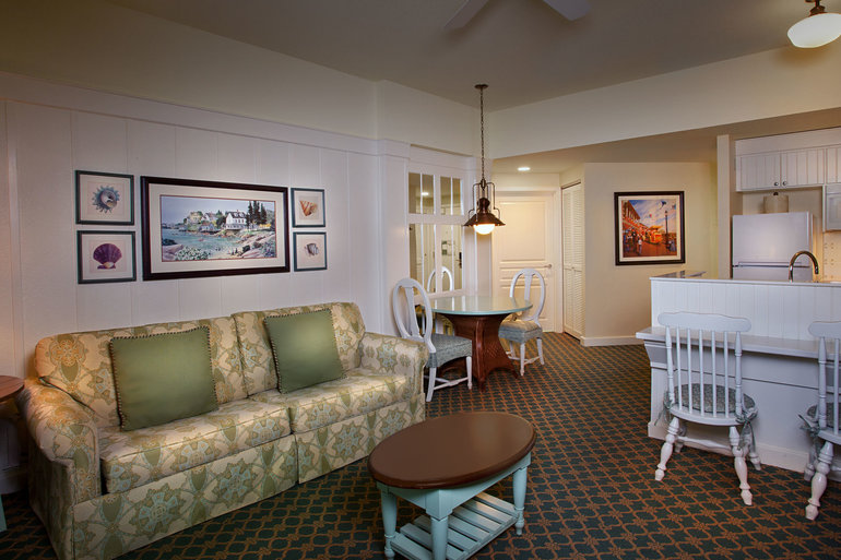 One Bedroom Disney S Boardwalk Villas Orlando Suite
