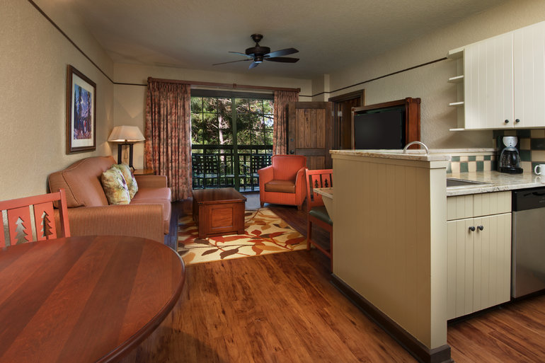 One Bedroom Boulder Ridge Villas At Disney S Wilderness
