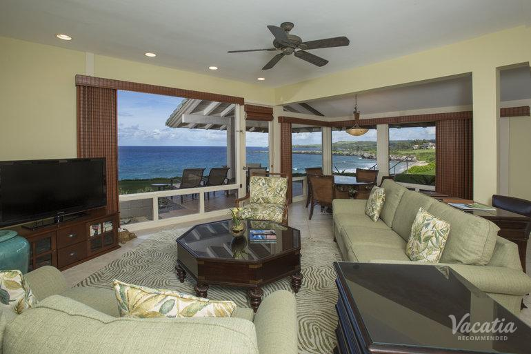 Gold One Bedroom Oceanfront Kapalua Villas Maui Maui