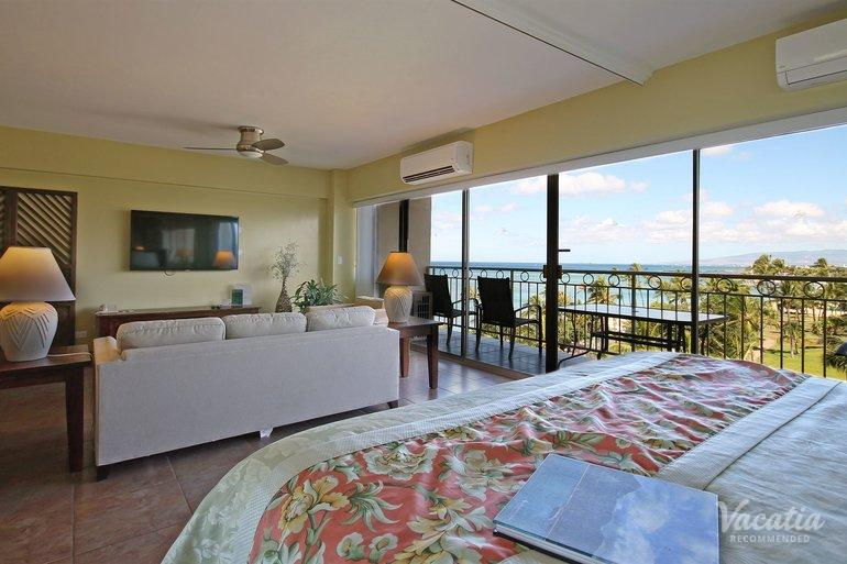 One Bedroom Ocean View Castle Waikiki Shore Oahu Condo