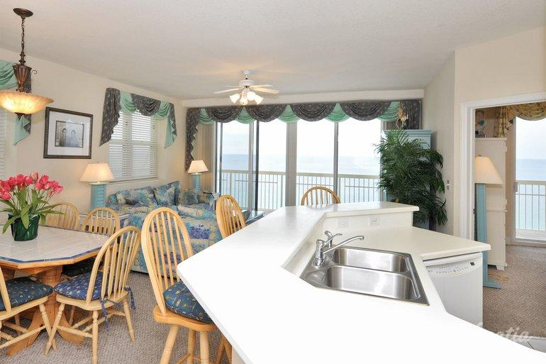 Three bedroom three bath gulf front celadon beach - 3 bedroom condos panama city beach fl ...