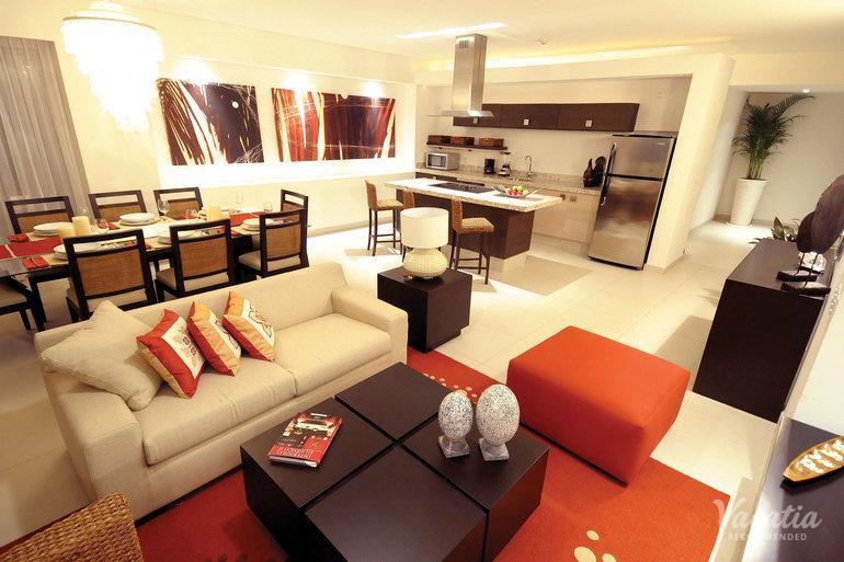 Two Bedroom Two Bath Penthouse Family Emotion Marival Residences Luxury Nuevo Vallarta All Inclusive Puerto Vallarta Condo Rentals