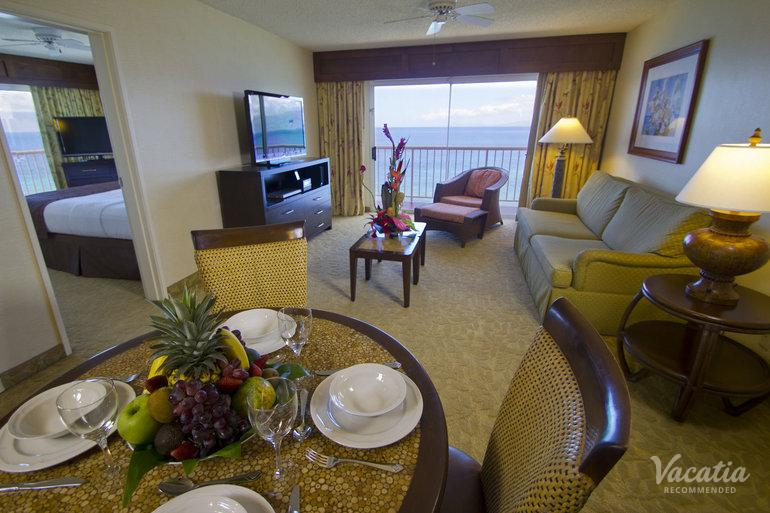 Deluxe One Bedroom Ocean View Kaanapali Beach Club