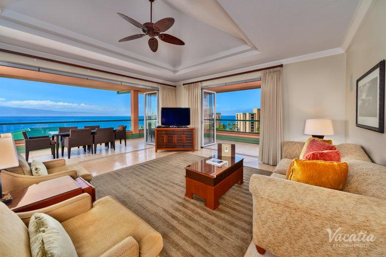 Three Bedroom Three Bath Ocean View Piilani Honua Kai Resort Spa Maui Condo Rentals