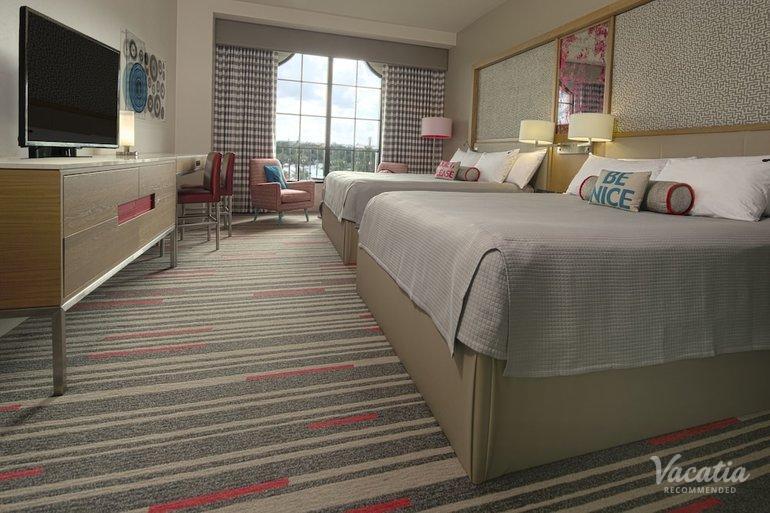 Room 2 Queen Beds Non Smoking Pool View Universal S Hard Rock Hotel Orlando Suite Rentals