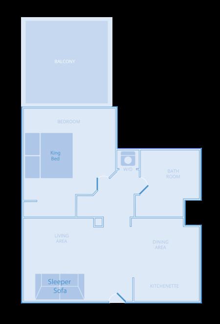 Deluxe One Bedroom Residence The Westin Desert Willow Villas